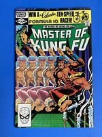 Master of Kung FU # 108 January 1982 Marvel Comic Book Bronze Age