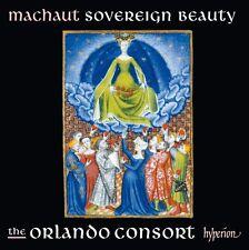 CD Machaut Sovereign Beauty The Orlando Consort (K88)