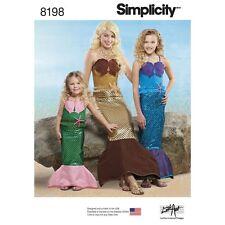 SEWING PATTERN! MAKE ARIEL~LITTLE MERMAID COSTUME! GIRL 2-4 OR 8-12!  MISS 10-16