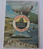 Vintage Canadian National Railways Provinces by the Sea Brochure