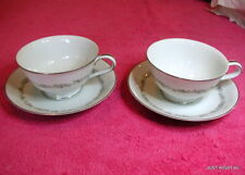 {SET OF 2} Noritake (Crestmont) CUP & SAUCER SETS Pat #6013 Exc (10 avail)