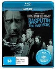 Rasputin the Mad Monk Blu-ray + DVD (Christopher Lee) Region B - New & Sealed!