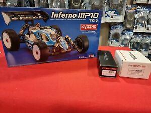 Kyosho MP10 TKI2 1/8 nitro buggy kit 33022 + Reds Scuderia SuperVeloce LE+ 2143s
