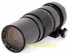 Olympus OM-System ZUIKO Auto-ZOOM 85-250mm 1:5 RARE & Collectible TELEPHOTO Lens