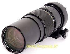 Olympus OM-System Zuiko Auto-Zoom 85-250mm 1:5 RARA & teleobiettivo da collezione
