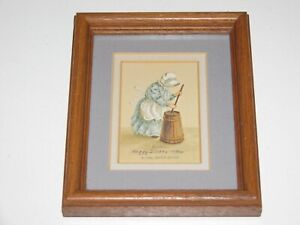"Peggy Dickey ""Butter"" Limited Edition Signed Framed Print"