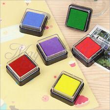 5 Color DIY Washable Kids Foam Ink Stamp Pad Set Inkpad Child-safe Hot E