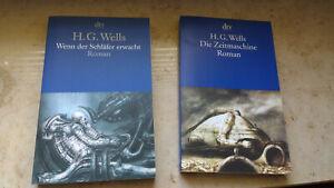 H.G. Wells Wenn der Schläfer erwacht (Taschenbuch) + Die Zeitmaschine