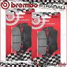 4 PLAQUETTES FREIN AVANT BREMBO CARBON CERAMIC 07001 APRILIA SRV 850 2012