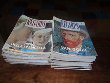REGARDS  SUR LA PEINTURE Collection Complète ( 4 euros le numéro )