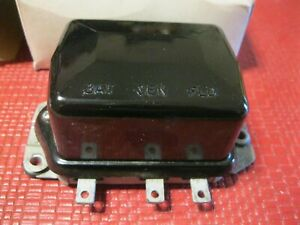 Rebuilt 1950-1955 Kaiser,Nash,Packard,Studebaker Voltage Regulator, 6 Volt