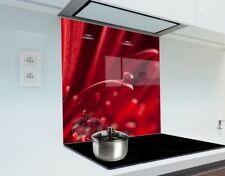 Kitchen Glass Splashback Heat Resistant Toughened Glass 60cm x 75cm