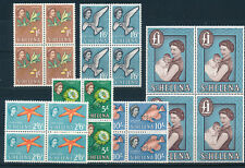 ST HELENA 1961 DEFINITIVES SG184/189 (HIGH VALUES) MNH