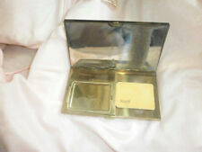 VTG.  VOLUPTE GOLDEN CARRY-ALL COMPACT WITH CHAMOIS BAG