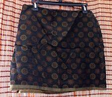 Tessuto lined mini skirt size 10 EUC