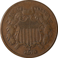 1870 Two (2) Cent Piece Great Deals From The Executive Coin Company