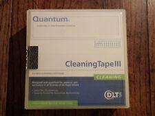 Quantum DLT Cleaning Tape/Cartridge III NEW