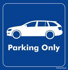 Parking only-skoda Octavia RS 5e combi-adhesivo