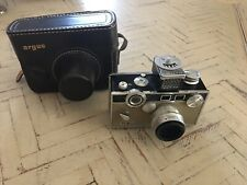 "EXCELLENT! Vintage Argus C3 ""The Brick"" Rangefinder Camera 50mm f/3.5 35mm"