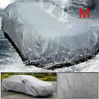 Waterproof  Full Car Cover UV Outdoor Breathable M 430cmx160cmx120cm