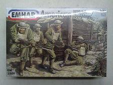 """Emhar 3509 American wwi Infantry """"Doughboys"""" 1:35 NUEVO Y PRECINTADO"""