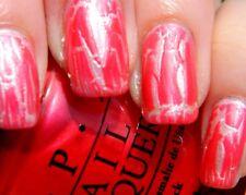 OPI Nail Polish Lacquer Enamel Varnish E58 Pink Shatter crackle creme 15ml NEW!