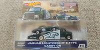 Hot Wheels 2019 Team Transport Jaguar E-Type Lightweight Carry On Car Culture