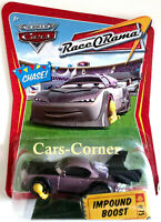 Disney Pixar Cars 1 Impound Boost #75 - mit Parkkralle - RaceORama 2008 NEU OVP