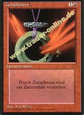 2x Zersplittern (Shatter) Magic limited black bordered german beta fbb foreign d