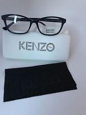 New  Authentic KENZO Eyeglasses  KZ 2208 C02 Transparent Blue 52-15-140 France