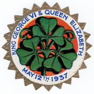 (I.B) Cinderella Collection : George VI Coronation Seal (Shamrock)