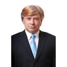 Mens Mr. CEO Trump Wig Honey Blonde Costume Accessory