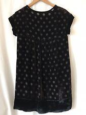 Ladies Silk Velvet Dress by SONIA RYKIEL  Size 8