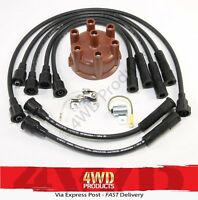 Ignition & Spark Plug/Lead kit for LandCruiser FJ80 4.0P 3F Carburettor (90-92)