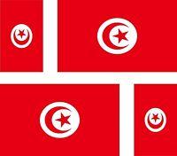 4x sticker Adesivo Adesivi decal tunisina Vinyl auto moto bandiera tunisia