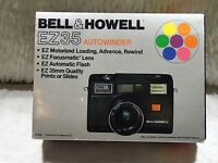 VINTAGE BELL & HOWELL EZ35 FLASH 35mm CAMERA CASE & BOX ONLY REPLACEMENT