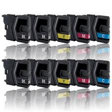 10x Tinte Patrone für BROTHER MFC-J220 J265W J410 J415W Druckerpatrone LC985