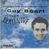 45TRS VINYL 7''/ FRENCH EP GUY BEART / L'EAU VIVE + 3