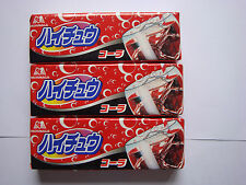 Morinaga Hi-Chew Soda Flavour Soft Candy chewy sweets 3 packs candies kids girls