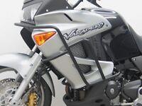 Engine bars, crash bars, black, Honda XL 1000 V Varadero
