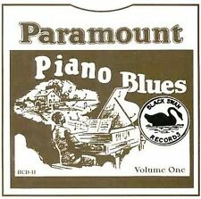 Various Artists-Paramount Piano Blues Vol. 1 1928 - 1932 [european Import]CD NEW