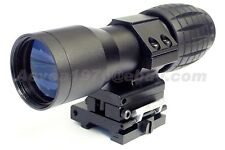5X Magnifier w/30mm FTS Flip to Side Mount for Aimpoint EOTech