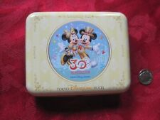 Disney Disneyland Hotel Tokyo Amenity Kit Tin 30th Happiness Year Mickey Minnie