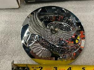 New Chrome Live To Ride Air Cleaner Insert Harley Dyna Softail Touring 1999-08
