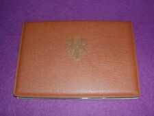 UK 1966 1967 8 Coin Collection Set Half-Penny ~ Half-Crown Barclay Bank folder