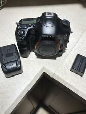 Sony Alpha SLT-A99 24.3MP Digital SLR Camera - Black (Body Only) With Charger