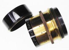 Berthiot Stellor No.3 Serie 1a 205mm f3.5 Brass Barrel Lens  #47401