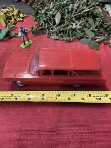 1960 Chevrolet Impala Nomad Wagon Promo Model Car In Lime Green