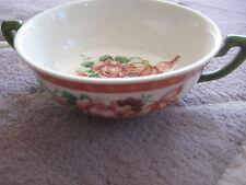 Vintage Villeroy & Boch Fiorello Mit Handmalerei Germany Suppentasse Soup Bowl
