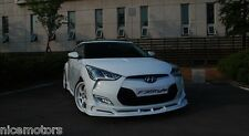 F3Style Front Bumper Lip Unpainted Parts For Hyundai Veloster 2012-2015